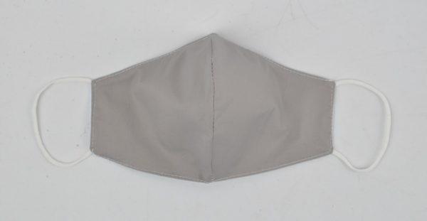 95-103-2101 uni grijs - 3D Trendy mondkapje van katoen - waterafstotend wasbaar herbruikbaar (2)
