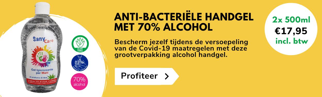 De goedkoopste desinfecterende alcohol handgel online verkrijgbaar